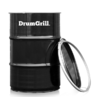 View Item Drumgrill Medium Oil Drum Barbeque BBQ Fire Pit Charcoal Barbecue