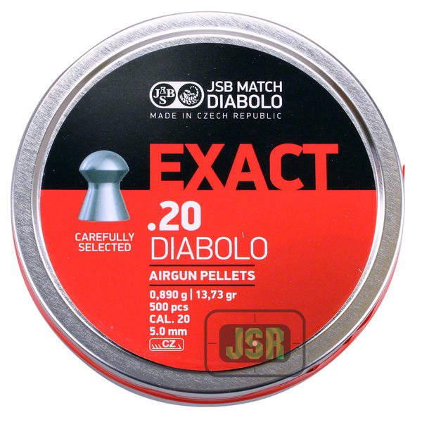 View Item JSB Match Diablo Exact Pellets [.20] [500]