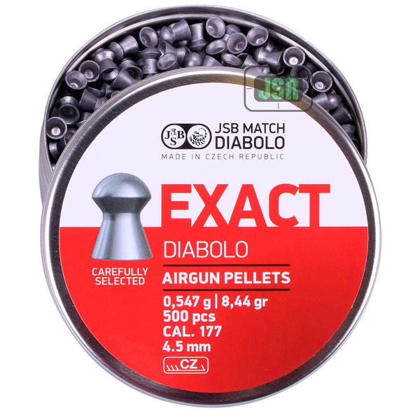 View Item JSB Exact Pellets [.177][4.52mm][500]
