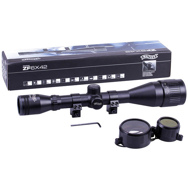 View Item Walther 6x42 Rifle Scope PX AO Adjustable With 11mm Dovetail Mounts [2.1508]
