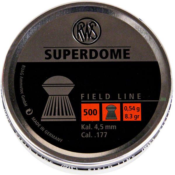 View Item RWS Super Dome Pellets [.177][8.3gr][500] 213 67 91