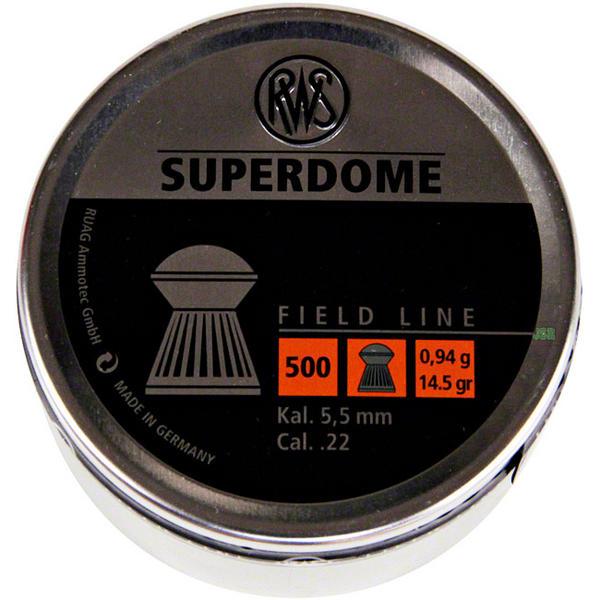 View Item RWS Super Dome Pellets [.22][14.5gr][500] 213 68 05