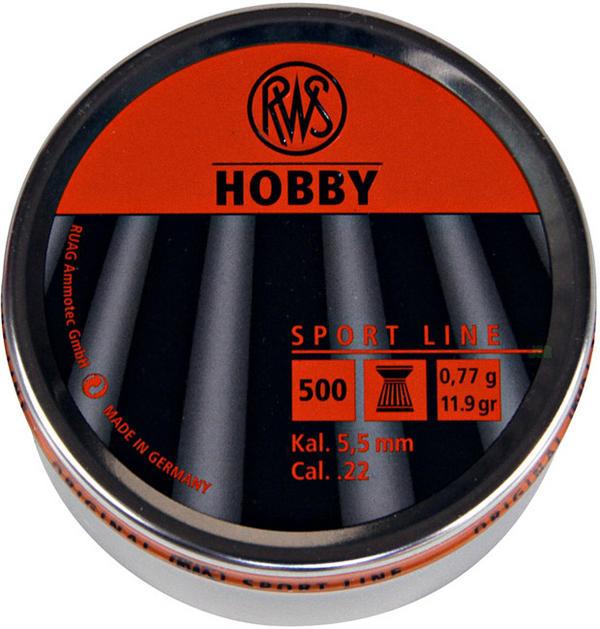 View Item RWS Hobby Flat Head Pellets [.22] [500] 213 64 30