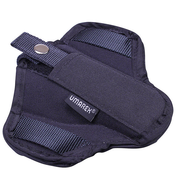 View Item Umarex Pancake Black Cordura Belt Holster - Suitable For Larger Pistols 3.1517
