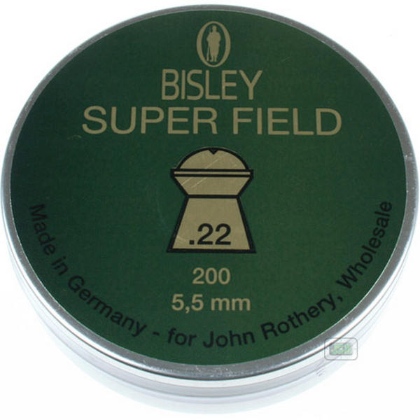 View Item Bisley Super Field Pellets [.22][5.50][200]