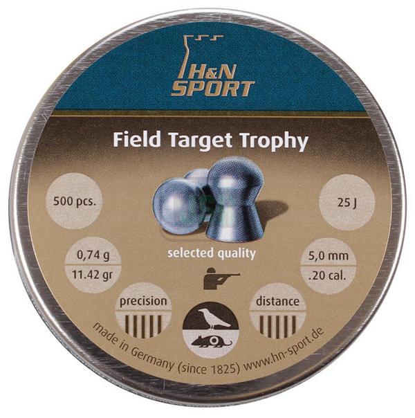 View Item H&N Field Target Trophy Pellets [.20][5.00mm][11.42gr][500]