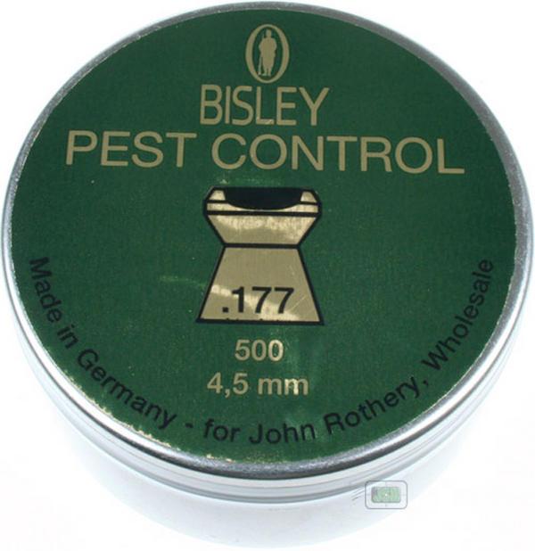View Item Bisley Pest Control Pellets [.177][4.50][500]
