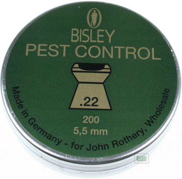View Item Bisley Pest Control Pellets [.22][5.50][200]
