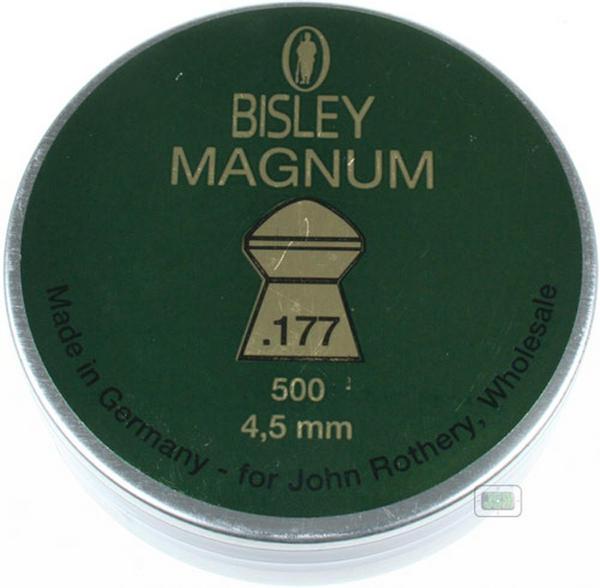View Item Bisley Magnum Pellets [.177][4.52][500]