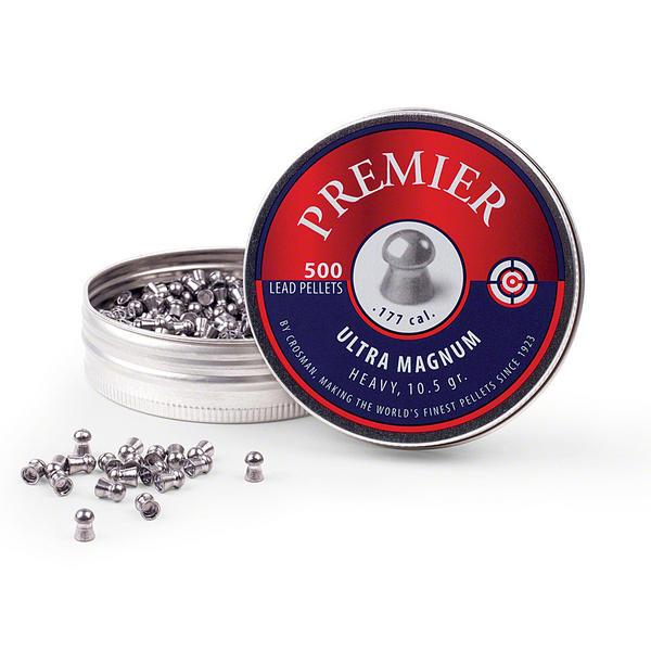 View Item Crosman Premier Domed Pellets [.177][10.5gr] [500 Tin] LUM77