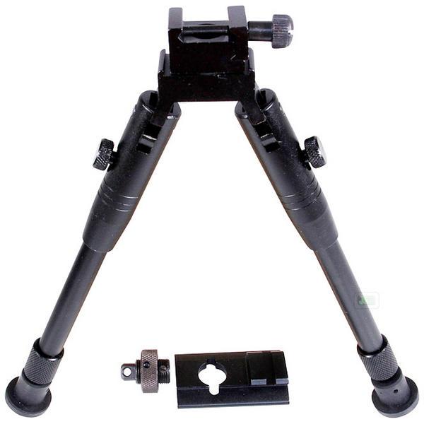 "View Item UTG / JSR Target Pro Tactical Panning  Bipod PICATINNY Rails & QR Stud [9"" - 11""] TL-BP69S"