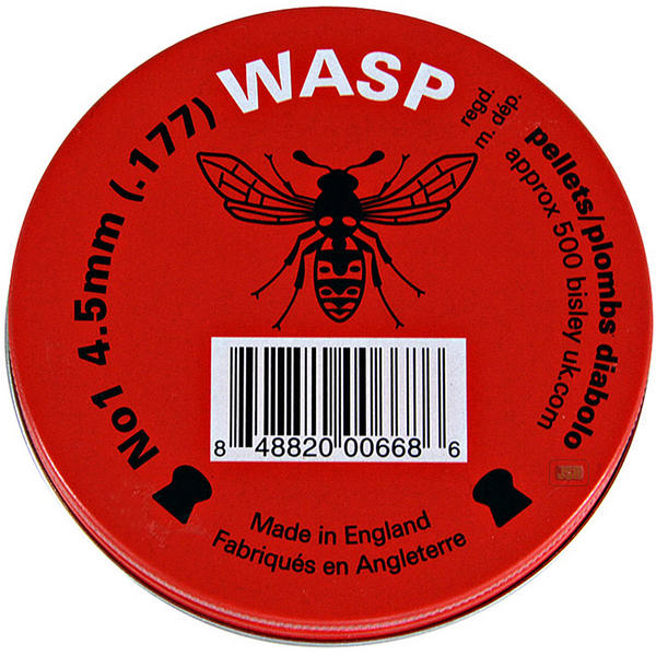 View Item Wasp Domed Pellets [.177][500][Red Tin]