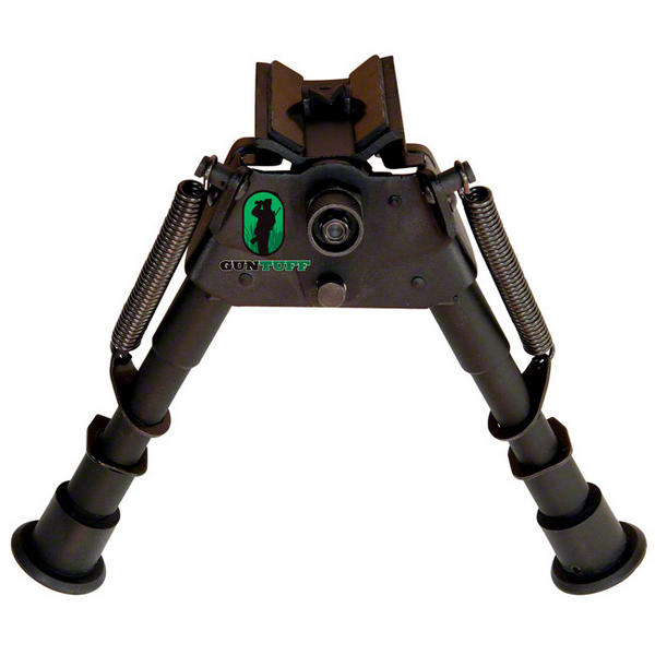 "View Item GunTuff Harris Style Bipod 6-9"" Swivel Model[GTB6S]"