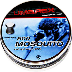 Umarex Mosquito Flat Head Pellets [.177] [500] 4.1915 Preview