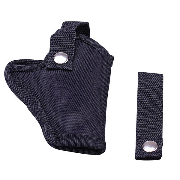 View Item Umarex Black Cordura Belt Holster - For Revolvers 3.1513