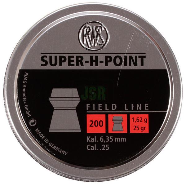 View Item RWS Super Hollow Point Pellets [.25] [200][ 25gr] 231 72 62
