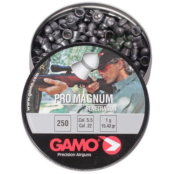 View Item Gamo Pro Magnum Penetration Pointed Pellets [.22] [15.43gr][250]