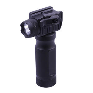 "UTG 5.5"" Grip Light LED Airsoft Rifle Metal Foregrip Combat Quality Lever Mount Preview"
