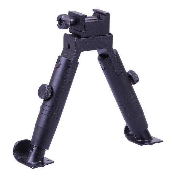 "View Item Leapers UTG Shooter's Competition Bipod Steel Feed Height 4.6"" TL-BP28XST"