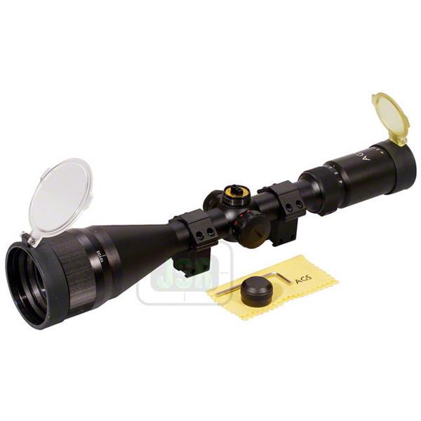 View Item AGS Cobalt 4-16x50 AO PX Adj Red / Green Illuminated Mil Dot Riflescope AGSS41650IR