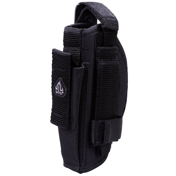 View Item UTG Ambi Belt Holster Pistol Ambidextrous Quick Draw Black Co2 Soft Air Gun