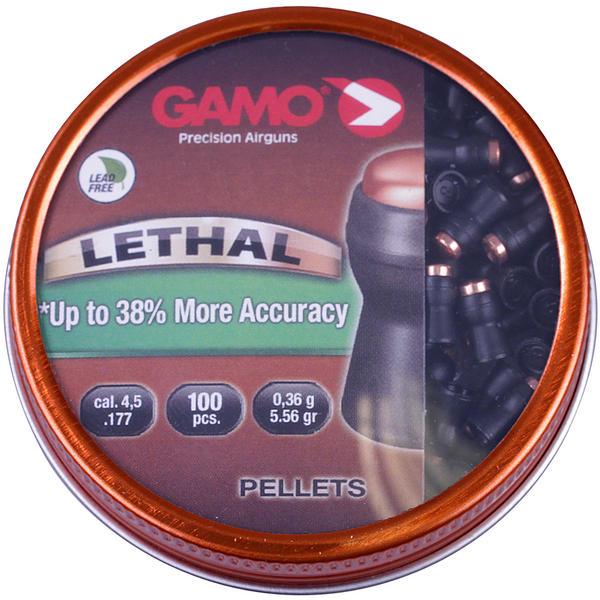View Item Gamo Lethal Pellets .177 Non Lead Airgun Rifle  [100 Pack] 6322740