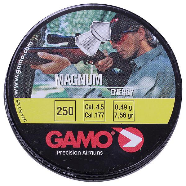 View Item Gamo Magnum Energy Pellets .177 250 Tin Airgun Air Rifle Pistol 6320224