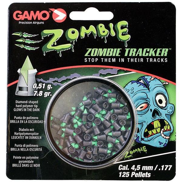View Item Gamo Zombie Tracker .177 Pellets Glow In The Dark Air Gun Rifle Pistol 4.5mm 125