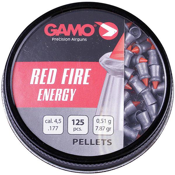 View Item Gamo Red Fire Pellets .177 [125 Pack] 6322711