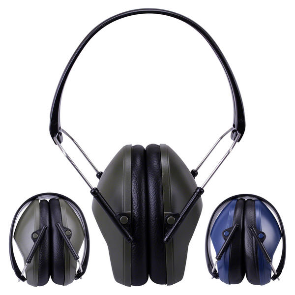 View Item GunTuff Folding Compact Shotgun Ear Defenders Shooting Hearing Muffs Hunting