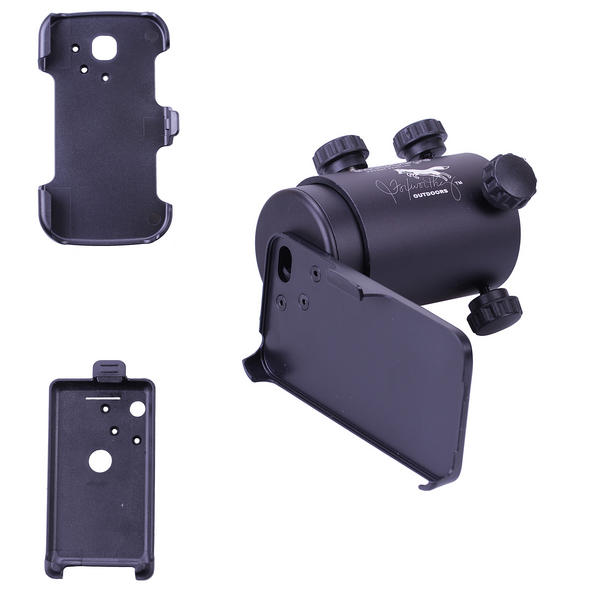 View Item iScope Smartphone Rifle Scope Adapter Complete Kit for Iphone 4 3GS S2 Android 2