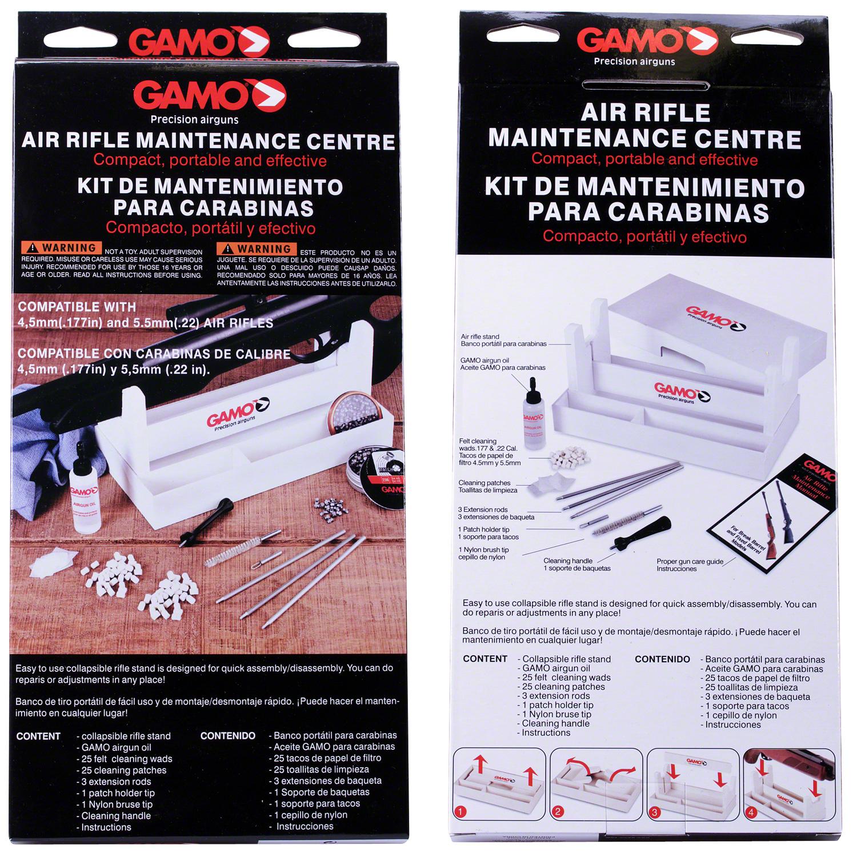 Gamo Bsa Airgun Cleaning Maintenance Kit Stand Rifle Shooting Rest