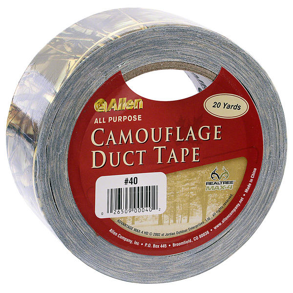 """View Item  Realtree """"Max 4"""" 20 Yard Heavy Duty Camo Duct Tape 2"""" Rifle Camouflage Hunting"""