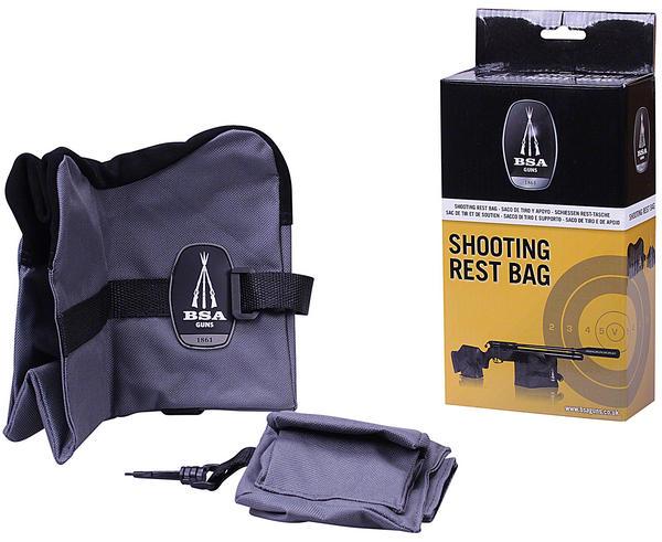 Bsa 2 Piece Front Amp Rear Rifle Air Gun Bench Rest Bag