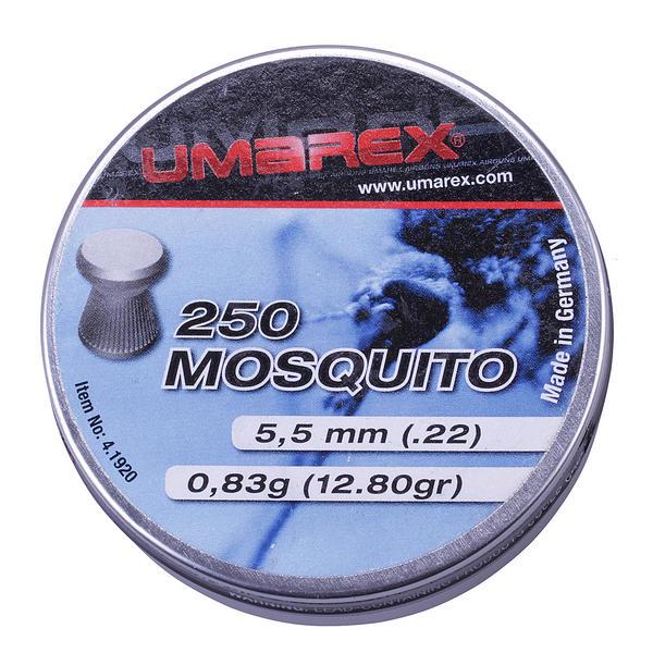View Item Umarex Mosquito .22 Air Rifle Pistol Airgun PELLETS Flathead Target Shooting 250