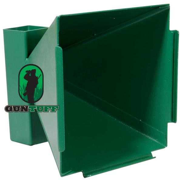 View Item GunTuff 17 x 17cm Airgun Funnel Target Holder / Pellet Trap