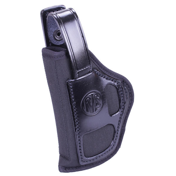 "View Item RWS Cordura & Hip Leather Belt Holster 4"" C225 Left Hand DNCOP100-01PL Black"