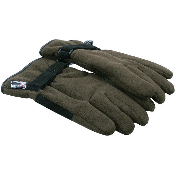 View Item Bisley Stalking Fleece Gloves Green Thermal Mitts Men  Women Small Medium Large