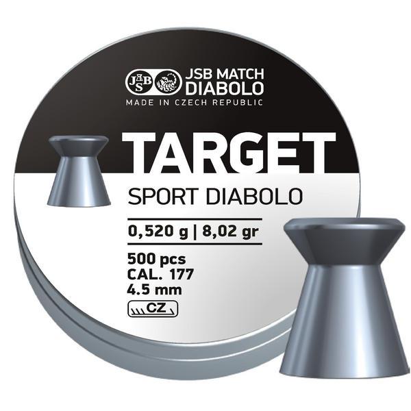 View Item JSB Diabolo Target Pellets [.177][4.50mm][500]