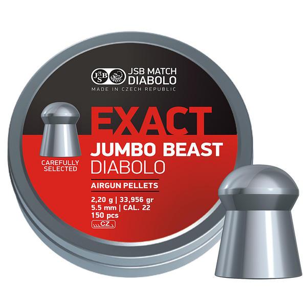View Item JSB Jumbo Exact Beast Diablo Pellets [.22][5.52mm][150]