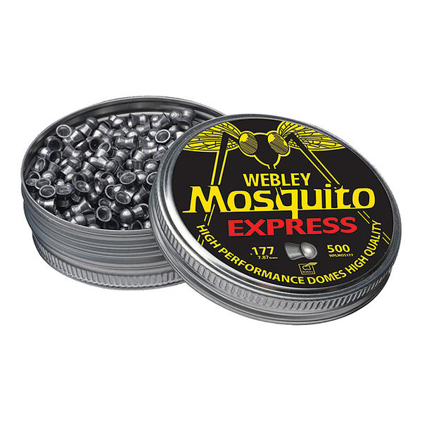 View Item Webley Mosquito Domed Pellets [.177] [500]