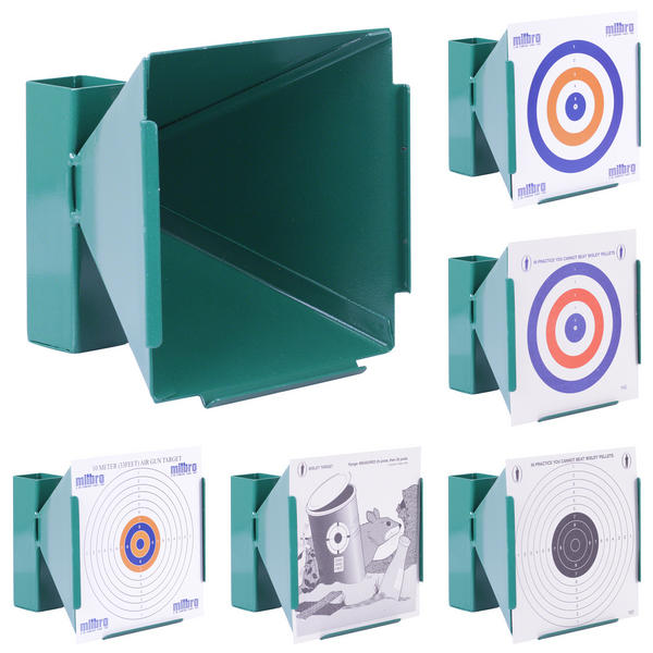 View Item GunTuff 17 x 17cm Target Holder / Available With Targets