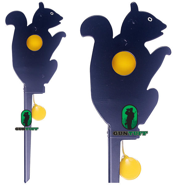 View Item Squirrel Knock Down Target Reset Air Rifle Airgun Hunting Training