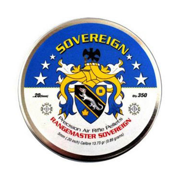 View Item Daystate Rangemaster Sovereign Domed Pellets [.20][5.0mm][13.73gr][350]