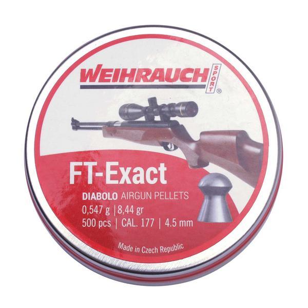 View Item HW Weihrauch FT Exact .177 4.51mm [500]