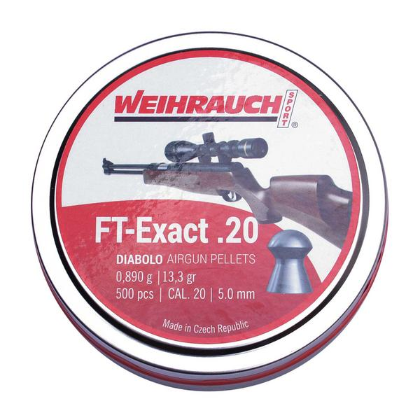View Item HW Weihrauch FT Exact .20 5.10mm [500]