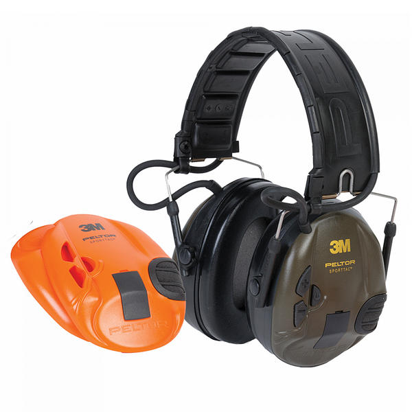 View Item 3m Peltor SportTac Ear Defenders Shooting Sports Electronic Hearing Protection