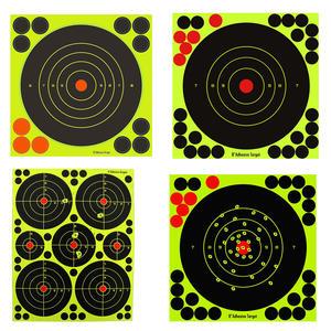 "GunTuff 4"" 6"" 8"" Inch Splatter Target Shoot And C Airgun Rifle Pistol Adhesive Preview"