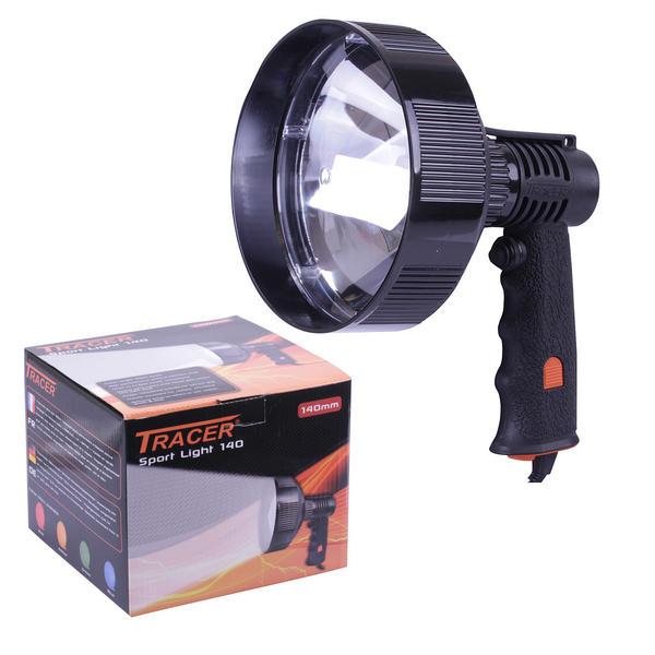 View Item Deben Tracer Sport Light 140 400m Handheld 12v 50w Lamp Hunting TR1405