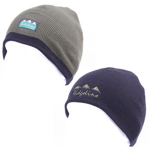 Ridgeline Reversible Beanie Green / Black Hat Thermal Headwear One Size Preview
